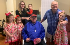 Children And Their Mother Visiting Rolling Ridge Residents