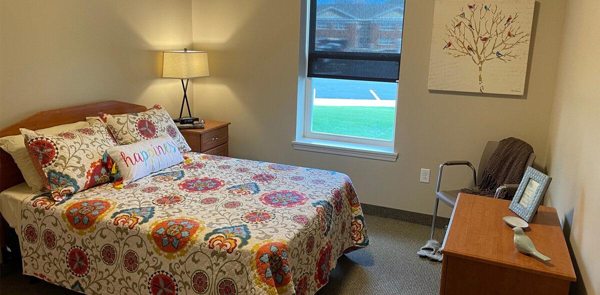 Apple Blossom Apartments Bedroom