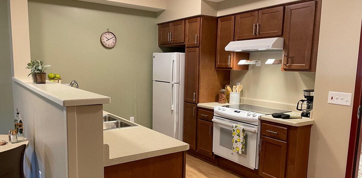 Apple Blossom Apartments Kitchen