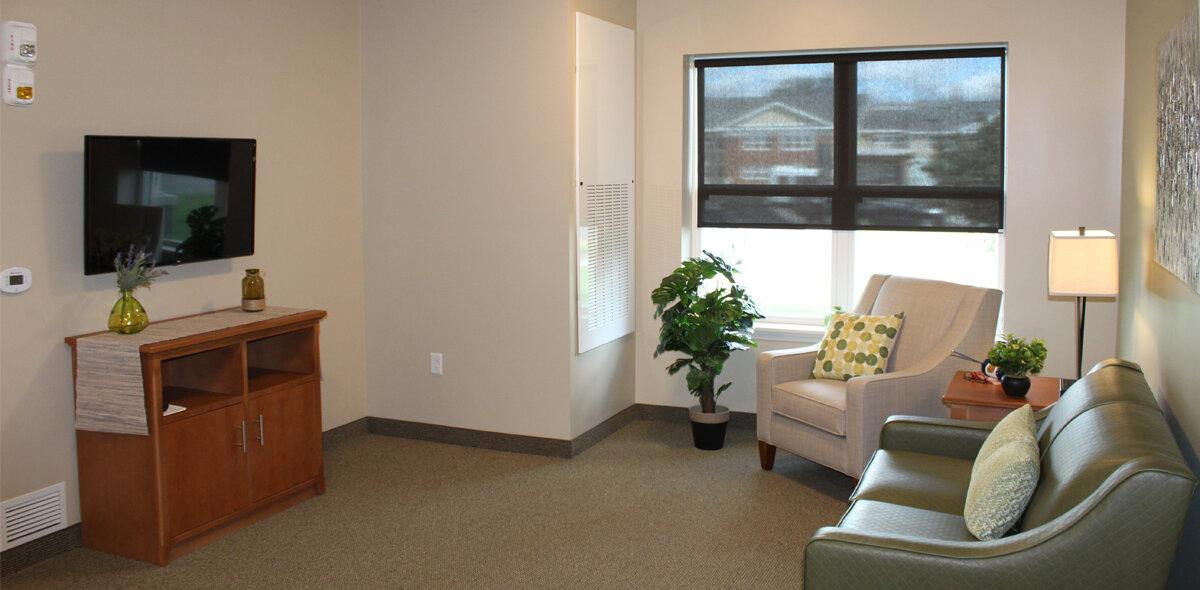 Apple Blossom Apartments Living Room