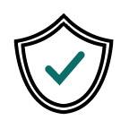 Shield Icon with check mark