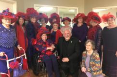 Rolling Ridge Red Hat Society