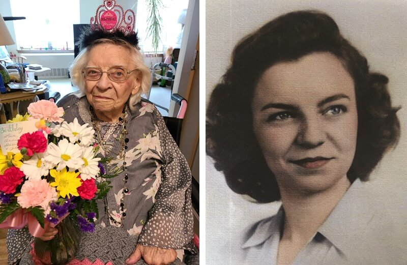 Esther Loucks Centenarian Birthday