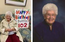 Dottie 102 Birthday