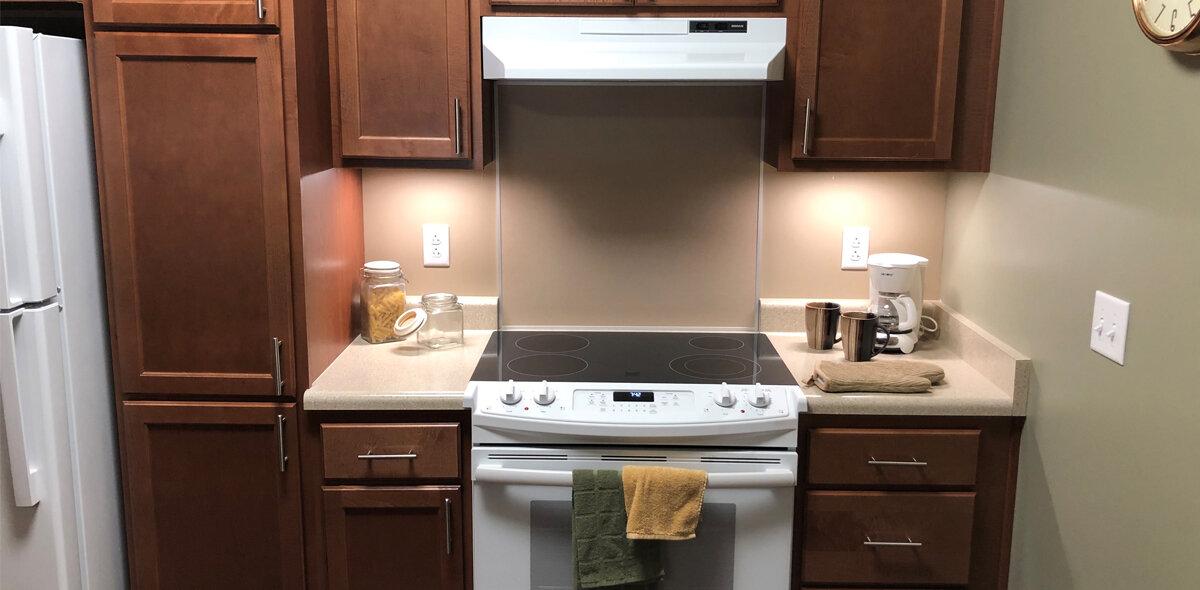Boxcar Apartments Kitchen 2