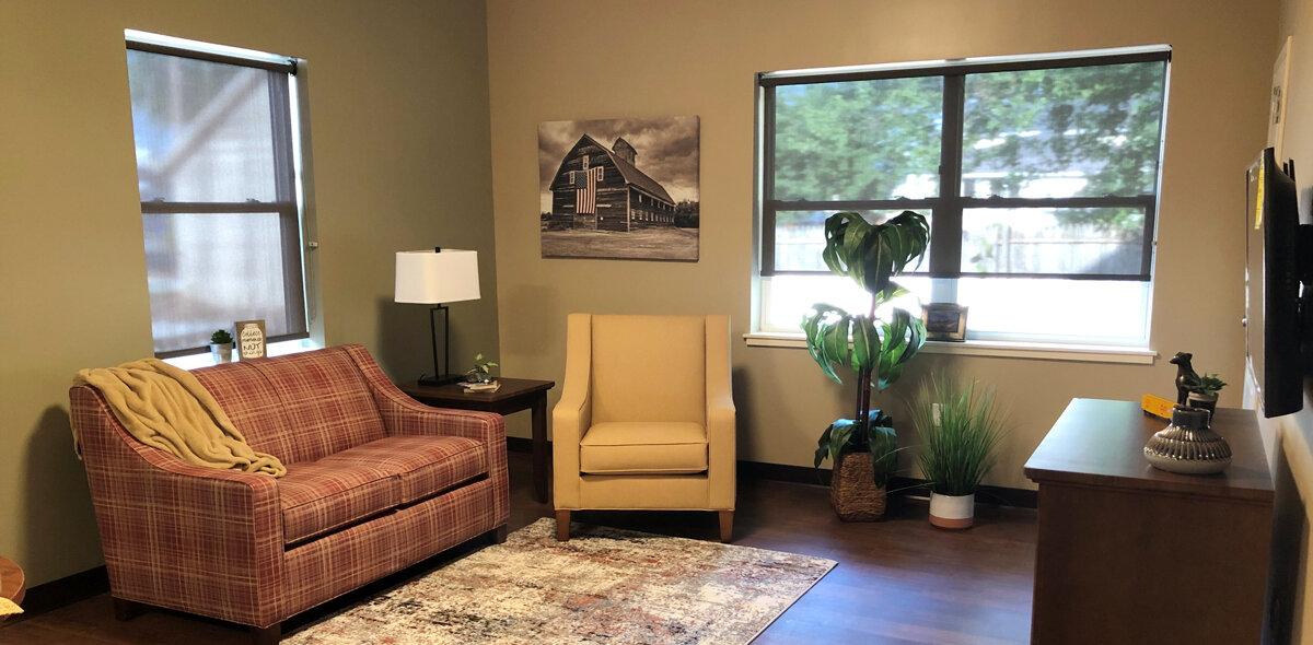 Boxcar Apartments Living Room