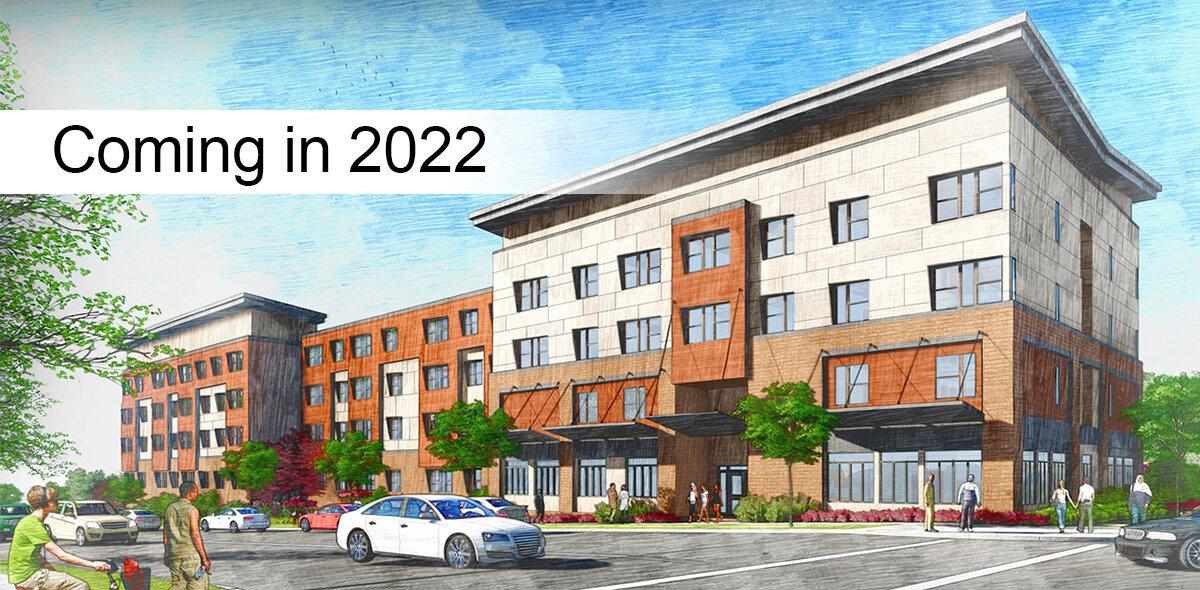 Lock 7 Apartments Coming 2022