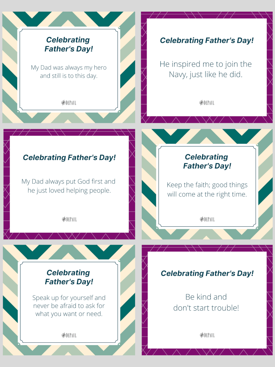 DePaul Father's Day Blog Quotes